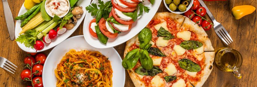 Carte et menus restaurant Italien