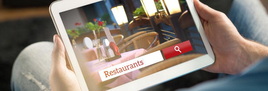 Recherche de restaurants dans la ville de Lyon
